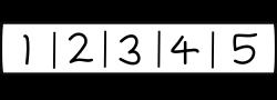 Ordenación de listas mediante el método de la burbuja.